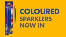 Buy Coloured Sparklers Online