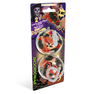 Kabuki - New HOT Line - Pack of 2 Halloween / Orange Black